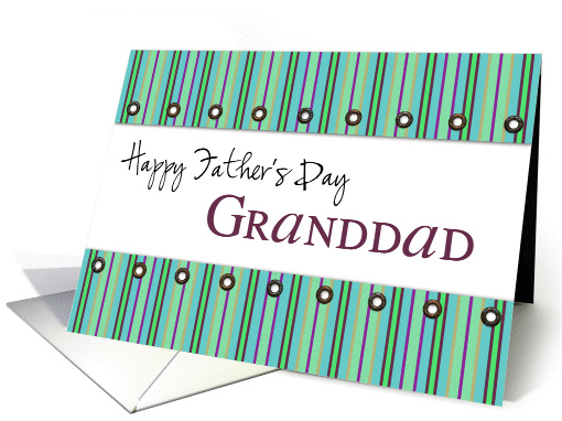 happy father's day grandad card (206047)