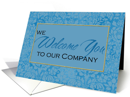welcome to our company card (370376)
