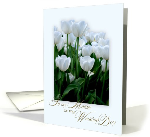 To my Mother on my wedding Day card (473835)