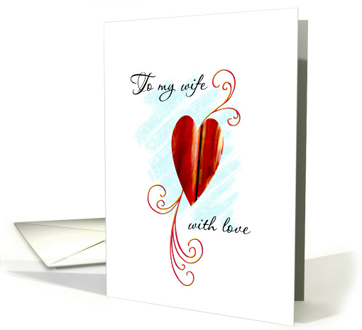 to my wife card (91003)