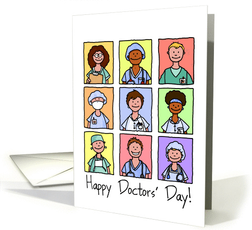 National Doctors' Day - Happy Doctors' Day! card (1040805)