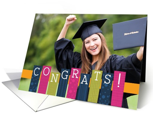 Graduation Announcement - Customizable Photo card (836347)