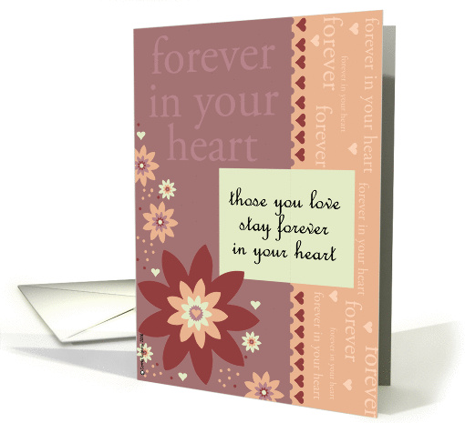 forever in your heart card (164894)