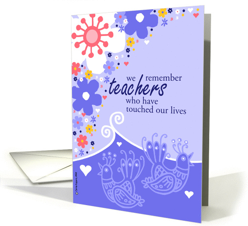 teacher appreciation card (167738)