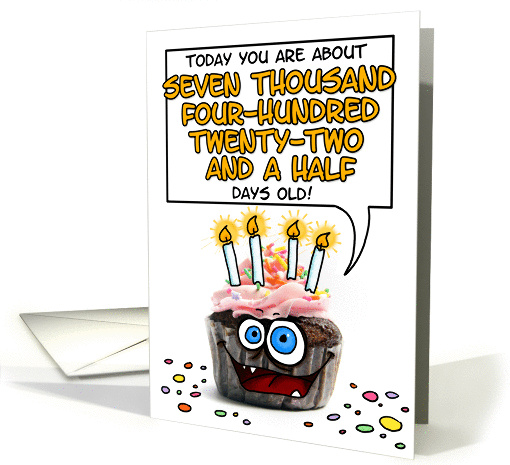 happy birthday - 20 years old card (276346)