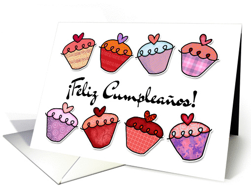 feliz cumplea�os  - Spanish birthday card (380723)