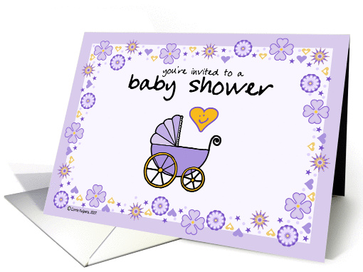 baby shower - save the date card (60205)