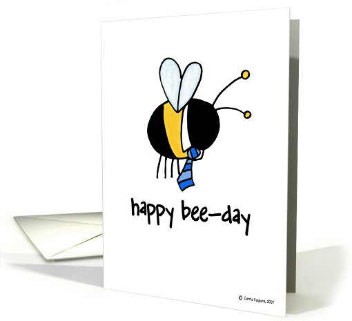 happy birthday - manager card (83256)