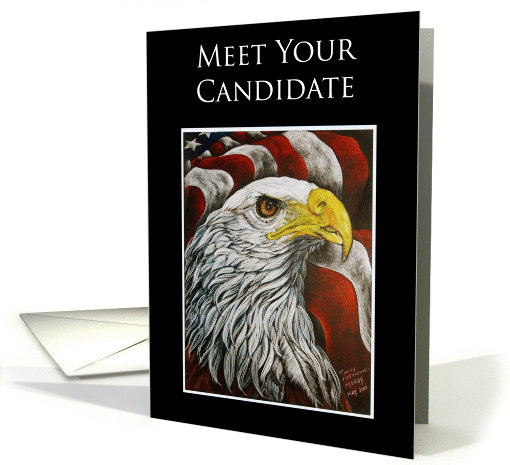 Campaign Meet Your Candidate Political Events Invitation card (148171)
