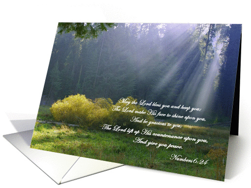 Uplifting Sympathy Thank You Cards Paper card (367197)