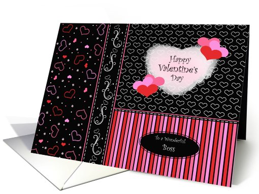 Happy Valentines Day Cards for Boss card (730648)