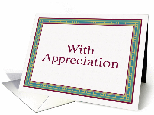 With appreciation card (78661)