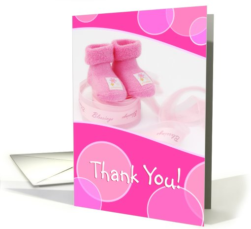 Thank You - Baby Gift card (424525)