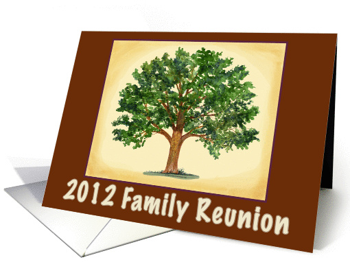 Family Reunion Invitation card (75012)