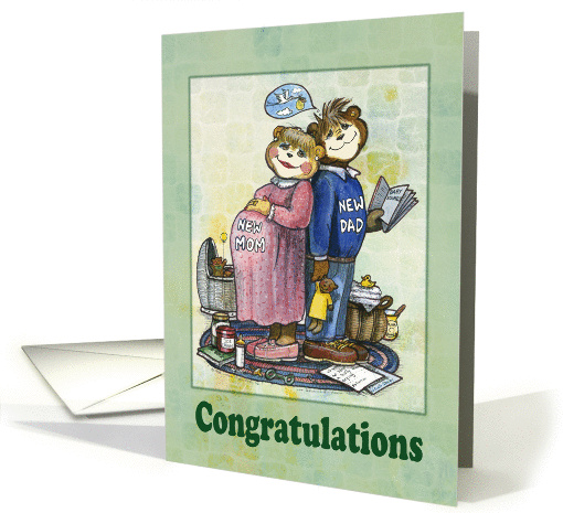 Parents to Be - Congratulations card (379028)