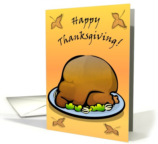 Happy Thanksgiving Turkey card (249437)
