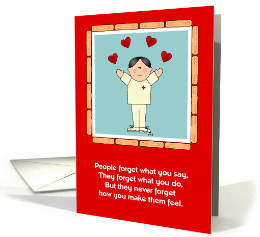 Nurse Appreciation-Male card (124894)