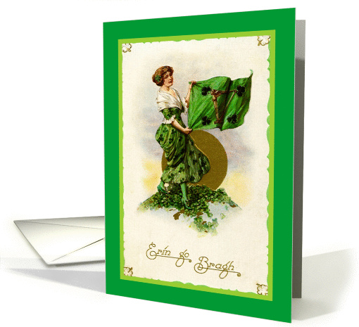 St. Patrick's Day card (69541)