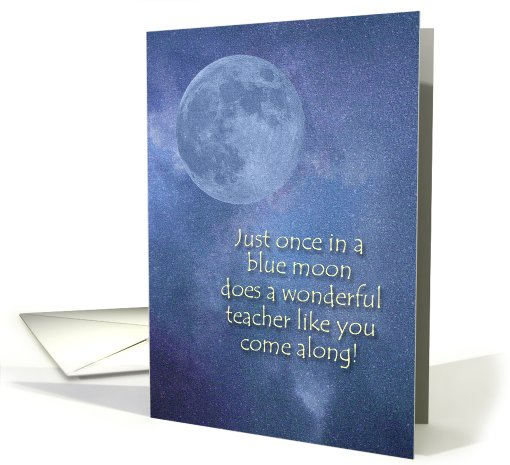 Wonderful Teacher Thank You card (230161)