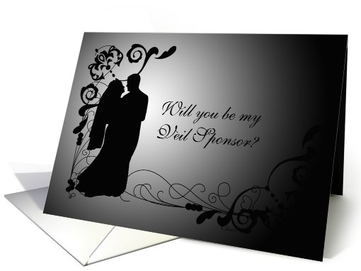 Will You Be My Veil Sponsor? card (549211)