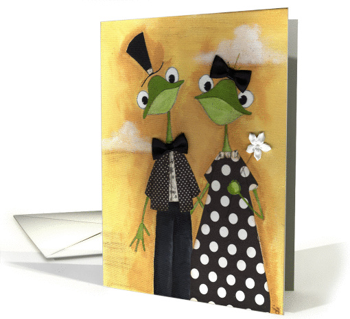 Fancy Frogs card (74819)