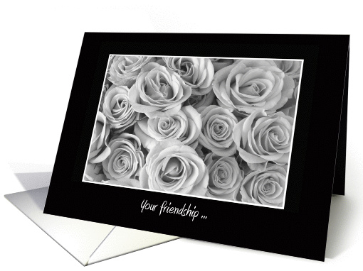 Will You Be My Bridesmaid Card -- Roses card (369053)