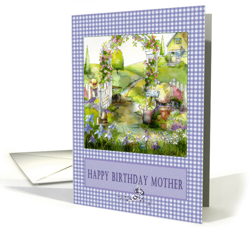 Happy Birthday Mother card (76545)