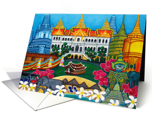 Exotic Bangkok card (78833)