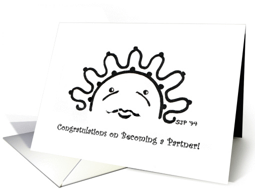Congratulations on Becoming a Partner! card (779921)