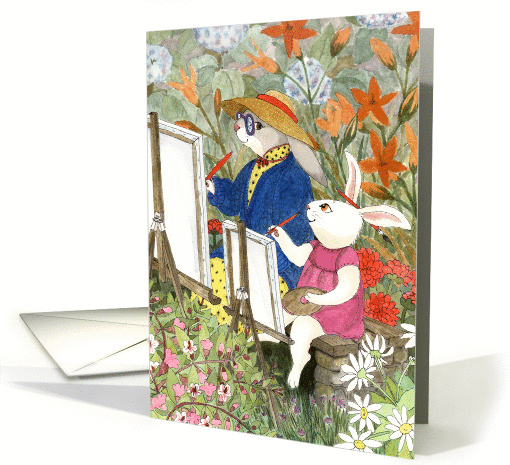 Mother Hare - Mother's Day card (101276)