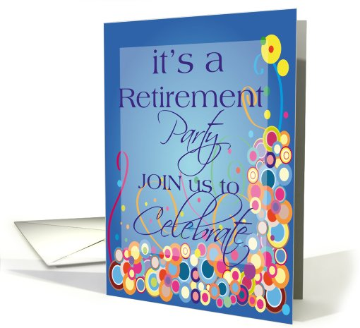 Retirement Party Invitation card (453072)