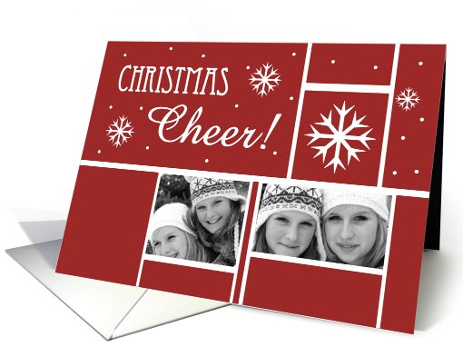 Christmas Cheer! - Photo card (855103)