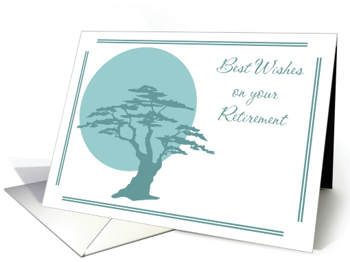 Retirement Wishes card (164714)