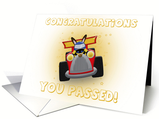 Congratulations You Passed! card (386344)