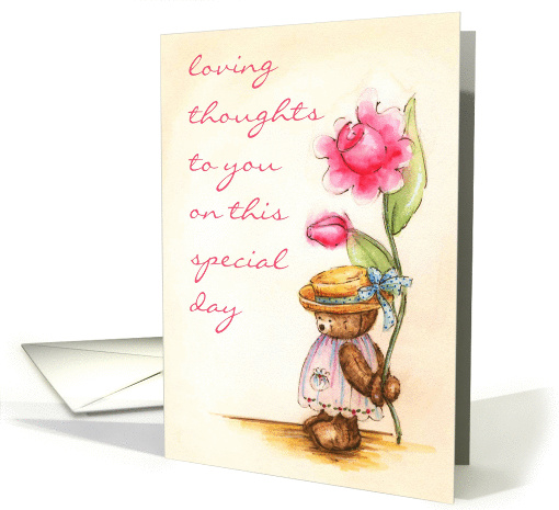 Loving Thoughts card (126955)