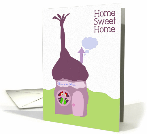 Home Sweet Home - New Home card (140825)