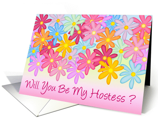 Will You Be My Hostess? card (178288)