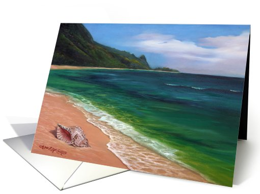 All Washed Up on Kauai's Shores card (695457)