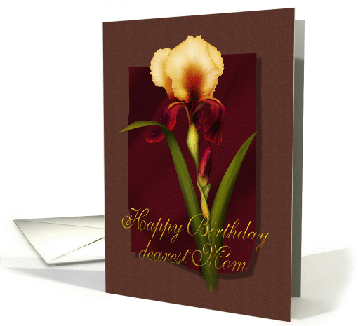 Iris Birthday Mom card (163115)