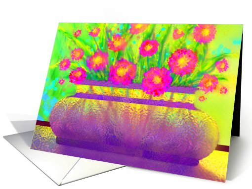 Daughter, Birthday Greeting Card, 'Impressionist Light #2' card