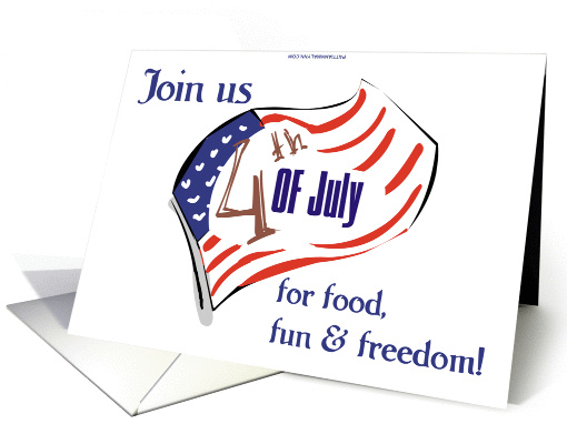 4th of July Invitation card (175736)