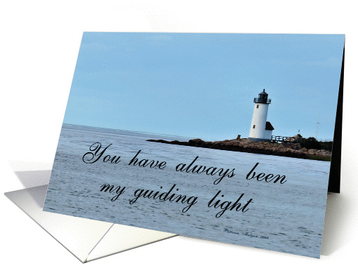 Lighthouse Teacher of the Year card (271935)