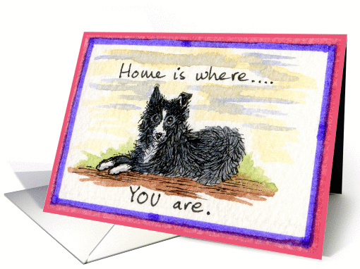 Welcome Home from the hospital card (212008)