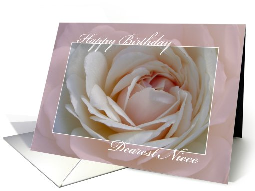 Happy Birthday Niece card (155326)