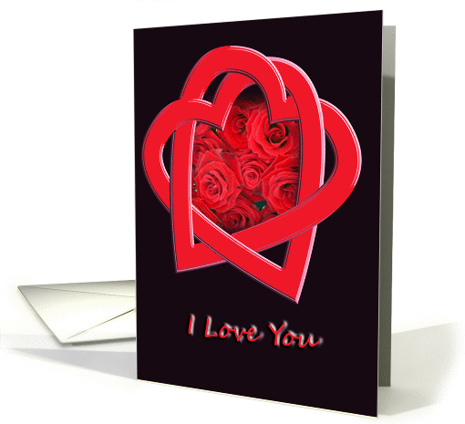 I Love You - Valentine's Day card (335725)