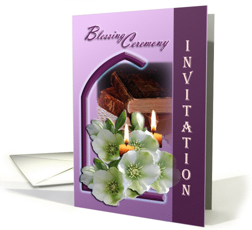 Blessing Ceremony Invitation card (582315)