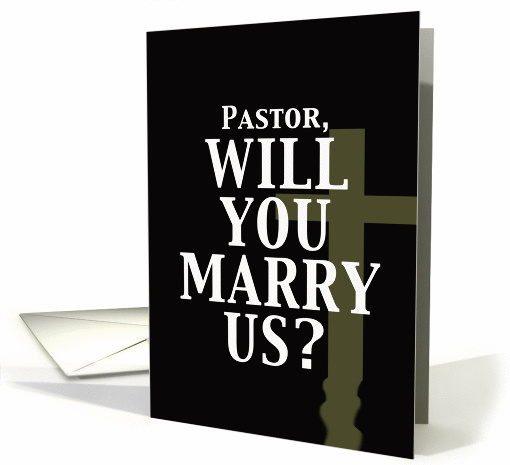 Marry Us - Pastor card (345411)