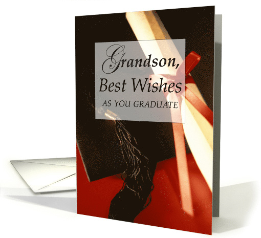 Grandson, Graduation Wishes card (564350)
