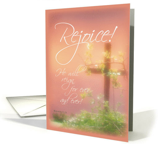 Rejoice - Easter  card (377518)