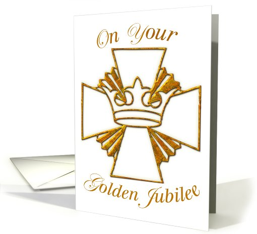 Golden Jubilee Priest card (571105)